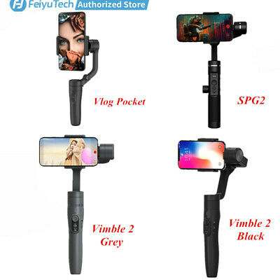 Feiyu 3-Axis Handheld Gimbal with Tripod For Cellphone iOS/OPPO/Samsung/HUAWEI