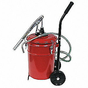 Portable Lever-Action Fluid Pump 5 Gallon Capacity Dynaline 11097 - NEW