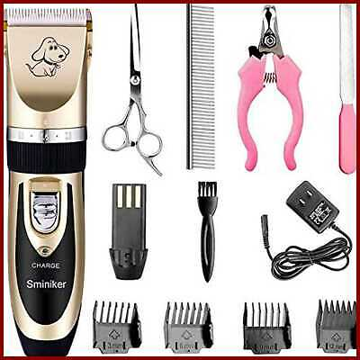 Rechargeable Cordless Dogs & Cats Grooming Clippers Professional Pet Hair Basic