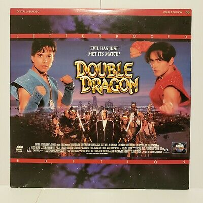 Double Dragon Laserdisc 1994 Letterboxed Edition Pre-owned. Plays perfectly