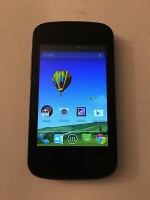 UMX MXW1 BLACK (Budget Mobile) Android Cellular Smart Phone