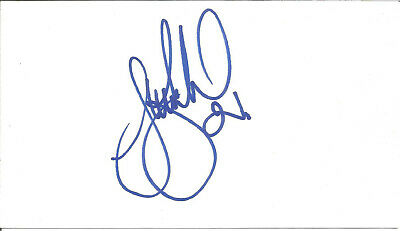 Stuart Barlow Football Autograph Everton Signed Card 15cm x 8.5cm approx F1642