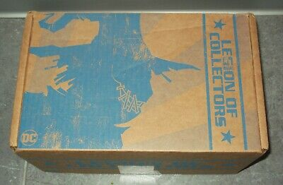 Funko DC Legion of Collectors box DC'S MOST WANTED Bane Lex Luthor POP