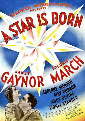 A Star is Born (1937) (Janet Gaynor) DVD NEW