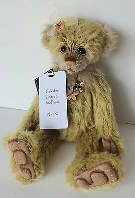 Charlie Bears Celandine - Isabelle Lee Collection - Ltd Edt # 206 - Mohair -2019