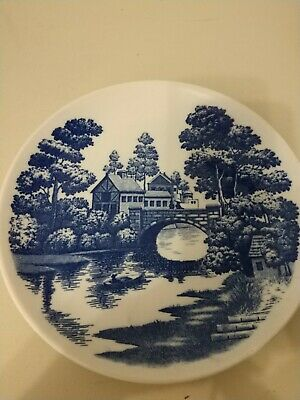 9 Inch Plate Nasco Lakeview Japan Hand Painted Vintage Good Condition