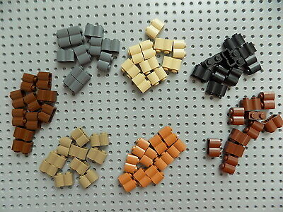 Lego  Brick Modified 1 x 4 Log sold in lots of 10 pieces  pick your color
