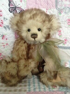 Charlie Bears Tasha 2012 Qvc Exclusive Secret Collection Bear ~ Only 600 Made