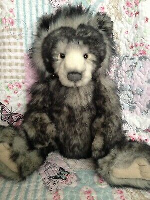 Charlie Bears Anthony 2012 Qvc Exclusive Secret Collection Bear ~ Only 600 Made