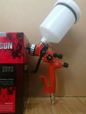 5000B HVLP Professional Gravity Feed Air Spray Gun 1.3 mm Nozzle Size 600cc Cup