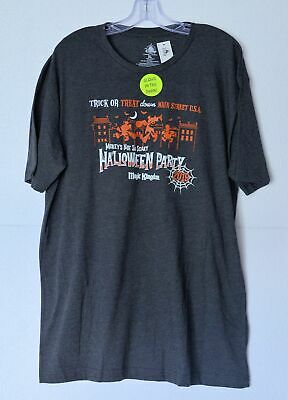 Disney Parks Mickey's Not So Scary Halloween Party 2019 Adult Shirt Size 3XL NWT