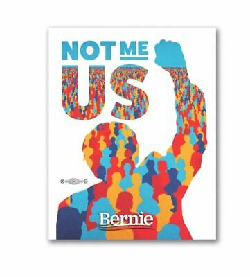 Bernie Sanders 2020 For President Not Me US Bumper Sticker Decal