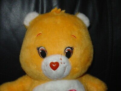 Orange Carebears Care Bears Tender Heart Bear Plush Teddy Bear