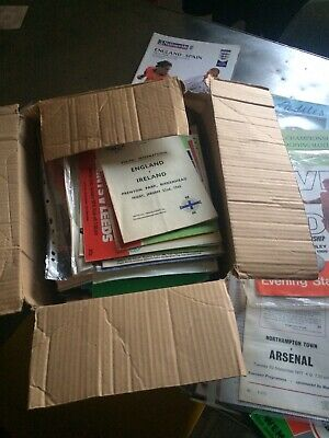 Rare Bulk Bundle Football Programmes 1950's On Wards Cup Finals All Listed