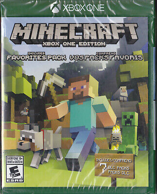 Minecraft Xbox One Edition (Brand New And Sealed)