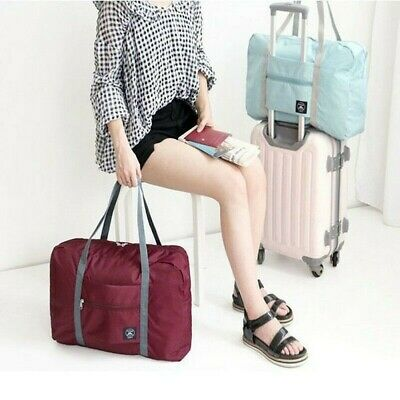 Luggage Storage Bag Travel Pouch Handbag Shoulder Bags Suitcase Organizer Lager