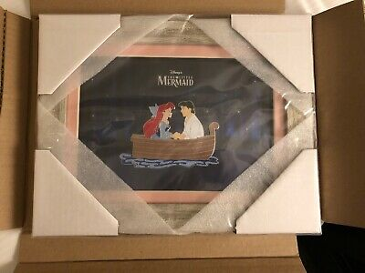 D23 Disney Expo 2019: Dream Store: Ariel and Eric Framed Jumbo Pin LE 150 (AAA)