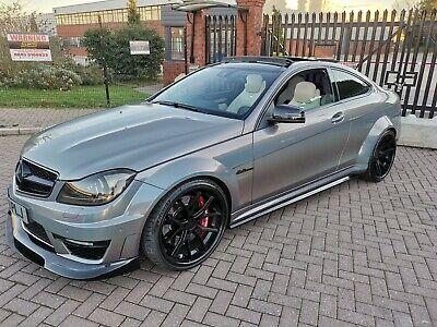MERCEDES BENZ C63 AMG 6 3L V8 523 3 BHP 3 owners from new