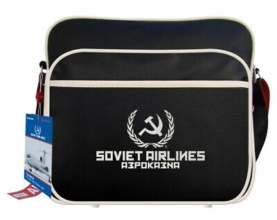 Sac Airlines Flight Travel Bag Soviet Airlines