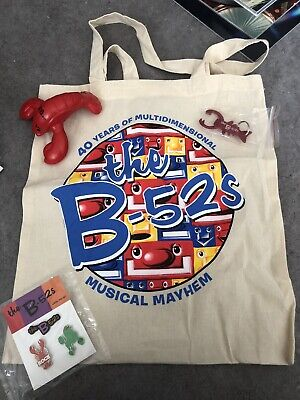 B-52's UK 2019 Tour VIP Package Items