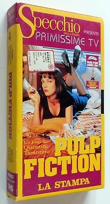 Vhs Stampa Pulp Fiction Quentin Tarantino