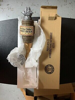 Pabst Not Your Fathers Root Beer Tap Handle Knob 13.2 Inches New In Box!
