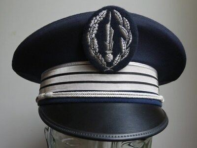 Casquette police nationale officier de paix principal France obsolète