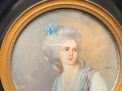 ANTIQUE FRENCH 18TH Century Queen Marie Antoinette (1755-1793)  of France.