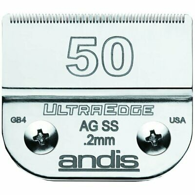 Andis 50Ss Ceramicedge Carbon-Infused Steel Detachable Pet Clipper Blade New