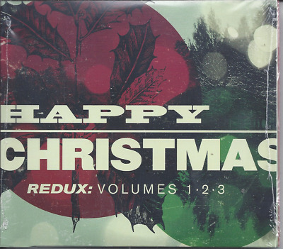 Happy Christmas Vol.1,2 & 3 CD MxPx/Lost Dogs/Sixpence/Switchfoot Factory Sealed