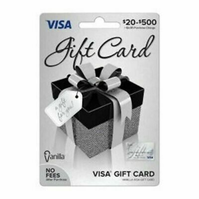 $200 GIFT CARD. ACTIVATED. FREE SHIPPING! No Fees After Purchase. Non Reloadable