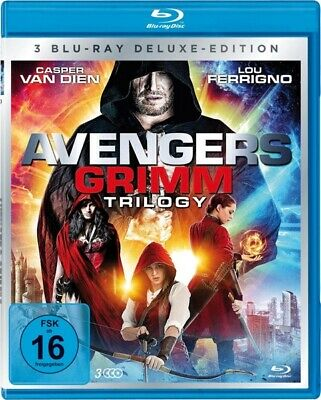 Avengers Grimm 1-3 Trilogy-Box-Edition (3 Bds) -  Deluxe Edition 3 Blu-Ray New