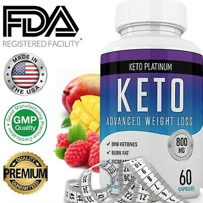 Keto Pure Premium Diet Advanced Weight Loss Keto Burn Slim  60 Capsules