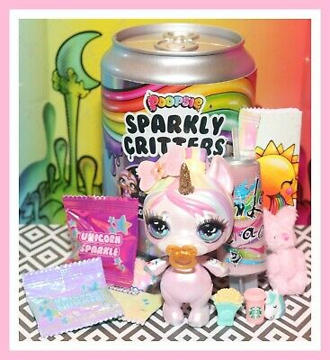 ❤️Poopsie Sparkly Critters Oopsie Starlight SC-110 Complete UNICORN Ultra Rare❤️