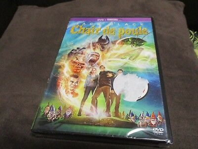 "DVD ""CHAIR DE POULE"" Jack BLACK / film enfants"