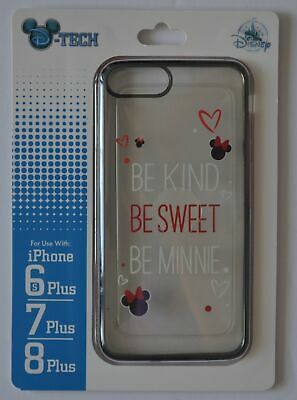 Disney Parks Be Kind Be Sweet Be Minnie Mouse Iphone 6s/7/8 Plus Phone Case NWT