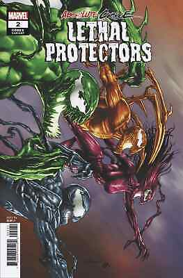 Absolute Carnage Lethal Protectors 2 1:25 Suayan Codex Variant Nm