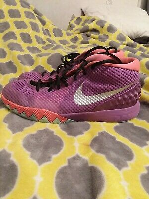 Kyrie 1 Easter Berry Silver Hot Lava Nike Size 7Y Purple Berry