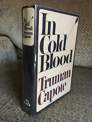 1965 1st Edition! TRUMAN CAPOTE In Cold Blood HC/DJ Vintage Gay Interest BOOK