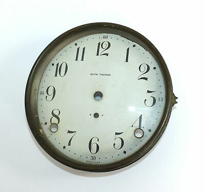 clock dial bezel GLASS REPLACEMENT Seth Thomas and most others parts repair