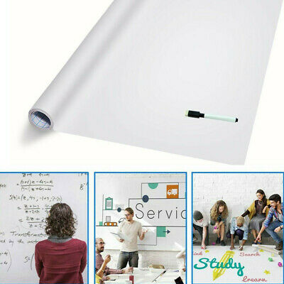 Dry Erase Board Self-Adhesive Whiteboard Wall Sticker Wallpaper Contact Paper