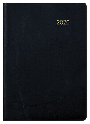 2020 Milford Cobalt Pocket Diary A7 Day to Page Black 441073