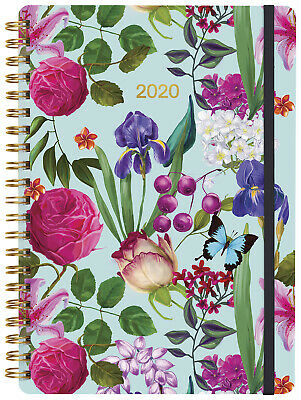 2020 Milford Spring Flowers Diary A5 Week to View