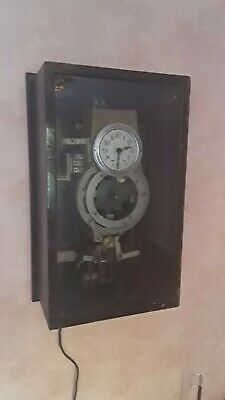 VERY RARE 1920s Master Slave Clock Distribution Central Control Unit clock.