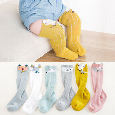 Cute Baby Toddler Girls Boys Soft Leggings Warmer Leg Warmers Knee Long Socks
