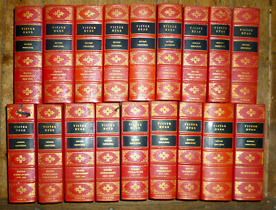 Victor Hugo Oeuvres Completes En 18 Volumes 18 Club