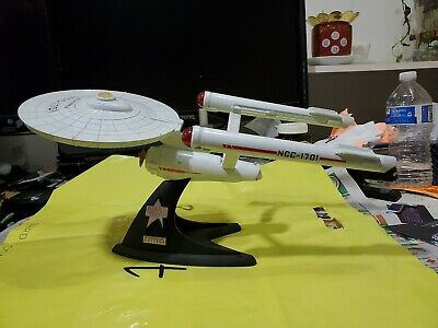 25th Anniversary Franklin Mint Star Trek USS Enterprise NCC-1701 Die Cast Model