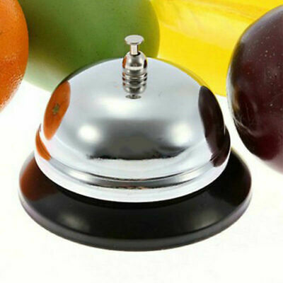 Portable Restaurant Hotel Kitchen Service Steel Bell Ring Desk Call Kit Rin U5G9