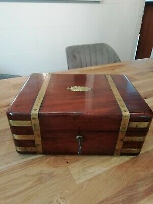 Antike Schmuckschatulle Antique Jewellery Box Case Manueacturer CHRISP.