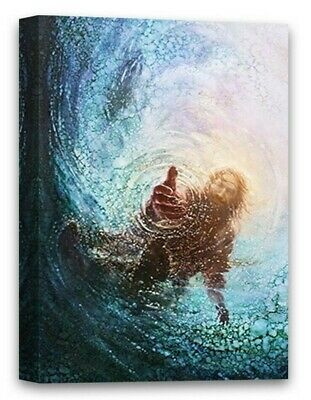 Christian Canvas Wall Art The Hand of God Home Decor Prints